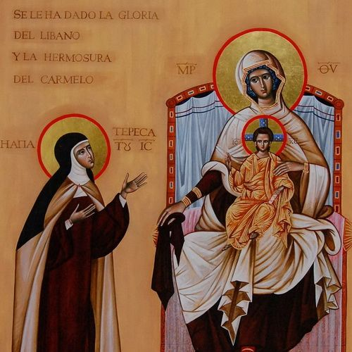 Matka Boża Szkaplerzna 500