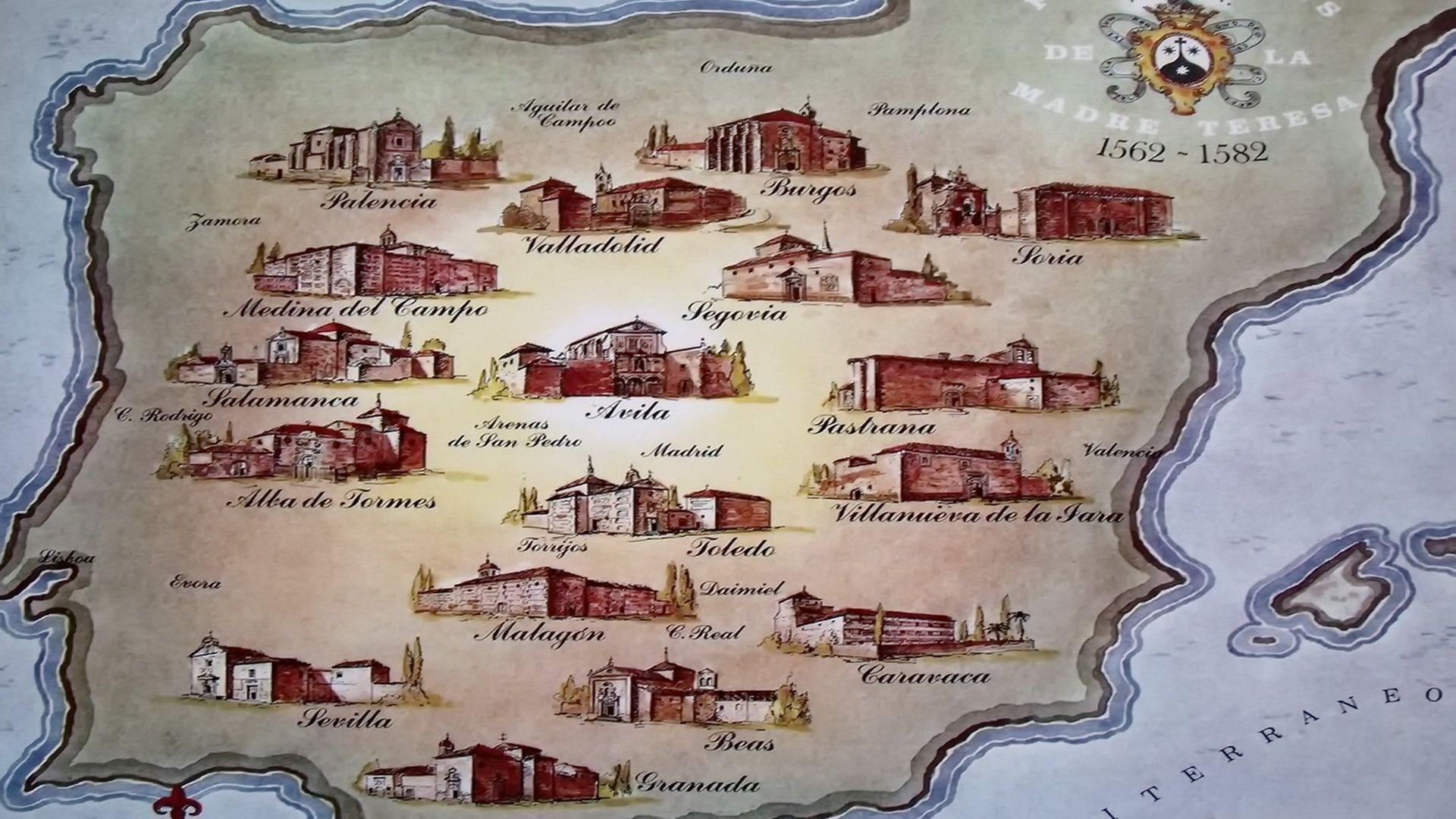 mapa fundacje
